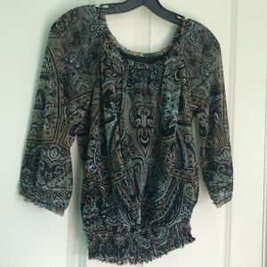Blouse with cute design